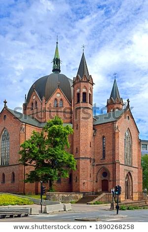 Trefoldighetskirken (Holy Trinity Church) Stock photo © joyr