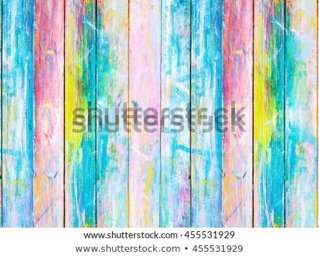 chêne · table · en · bois · texture · arbre · construction · mur - photo stock © lunamarina