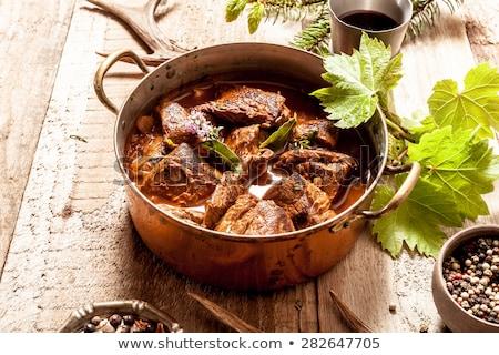 Venison goulash Stock photo © joker