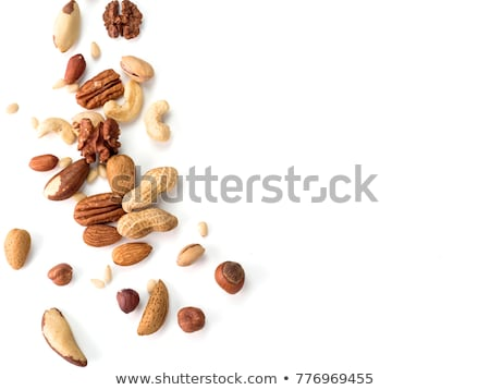 Noten geïsoleerd witte natuur gezondheid groep Stockfoto © natika