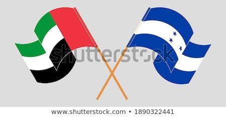 United Arab Emirates and Honduras Flags Stock photo © Istanbul2009