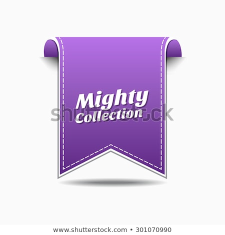 Mighty Collection Violet Vector Icon Design Stock photo © rizwanali3d