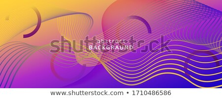 抽象的な 波 デジタル 3次元の図 音楽 ストックフォト © klss