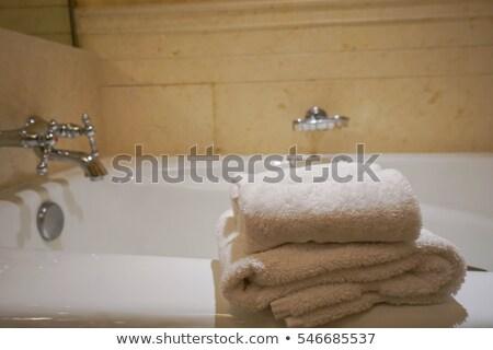 woman in bathtab Stock photo © ssuaphoto