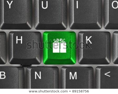 コンピュータのキーボード 2013 キー 技術 冬 メール ストックフォト © Oakozhan