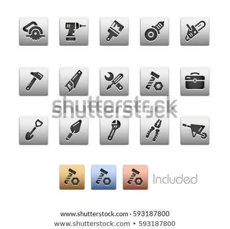 Electric tweezers icon Stock photo © angelp