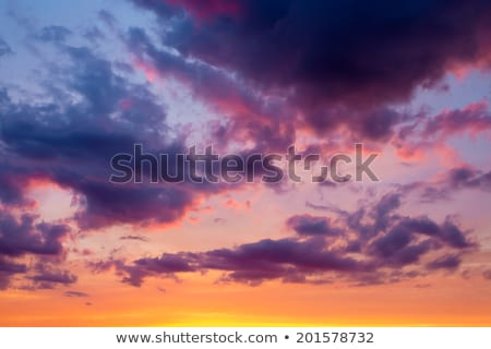 Foto stock: Lluvioso · tiempo · tempestuoso · viento · nubes · cielo