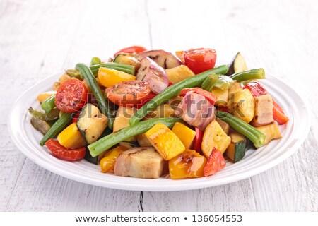 grilled vegetable, ratatouille Stock photo © M-studio