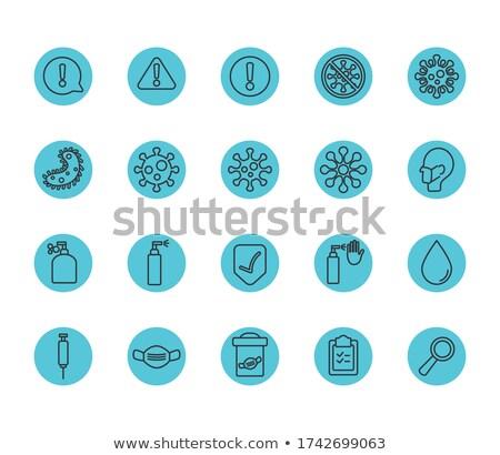 Ilustración lupa icono signo búsqueda Foto stock © kyryloff