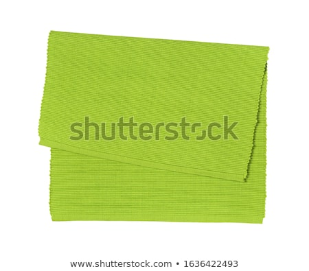 Zielone bawełny miejsce odizolowany biały czyste Zdjęcia stock © Digifoodstock