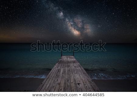 моста озеро Германия небе воды Сток-фото © borisb17
