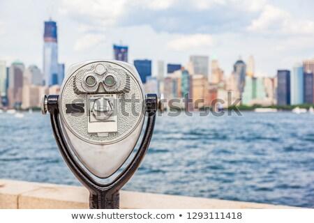 Nowy Jork podróży atrakcją turystyczną ikona monety wieża Zdjęcia stock © Maridav