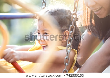 mother and daughter at the playground stock photo © photography33