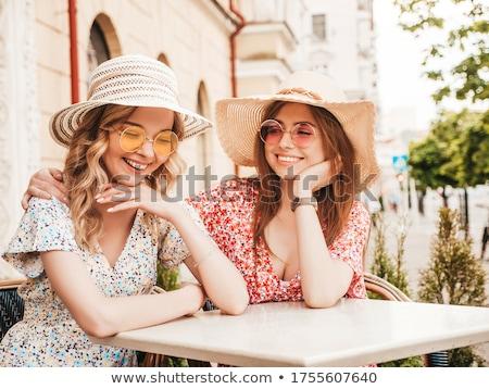 sexy · paar · ochtend · vrouw · glimlach · liefde - stockfoto © arturkurjan