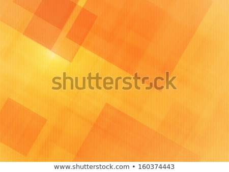 dark orange color squares abstract pattern stock photo © latent