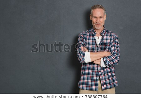 portrait of craftsman against studio background Stock photo © photography33