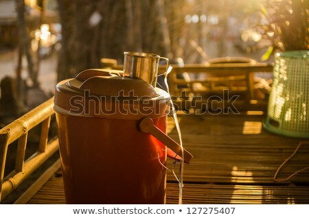Flask water and sunbeam Stock photo © sweetcrisis