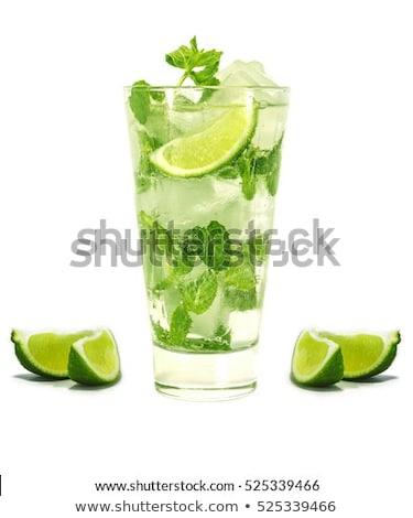 свежие · Мохито · воды · таблице · пить · коктейль - Сток-фото © Masha