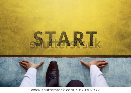 starting business concept stock photo © olivier_le_moal
