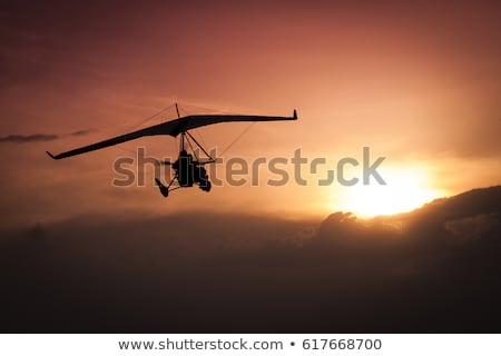 Repülés kerék pilótafülke tájkép légy Ázsia Stock fotó © dutourdumonde