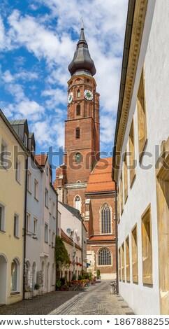 Straubing tornya Stock fotó © PRILL