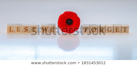 Remembrance Day holiday Stock photo © mayboro1964