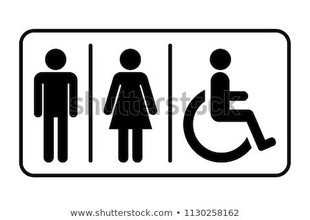 bejárat · férfi · női · wc · nyilvános · toalett - stock fotó © stevanovicigor