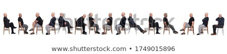 Full length of casual man posing side ways Stock photo © stockyimages