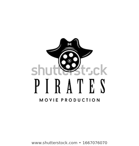 vector pirate film stock photo © dashadima