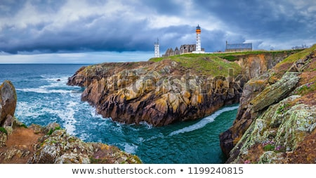 The Lighthouse of Saint Mathieu, Finistere, Brittany, France Stock photo © CaptureLight