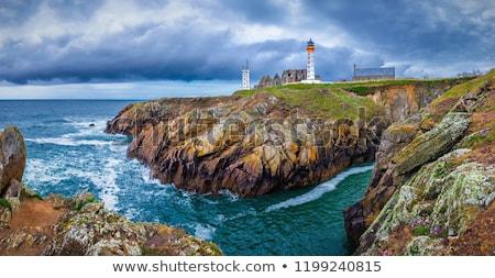aziz · deniz · feneri · mavi · seyahat · Avrupa · panorama - stok fotoğraf © capturelight