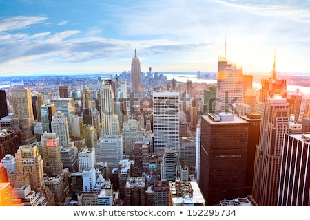 Evening New York City Stock photo © simply