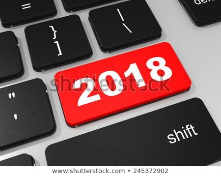 computer keyboard 2018 2 stock photo © oakozhan
