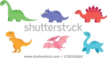cute · roze · illustratie · vector · veel - stockfoto © watcartoon