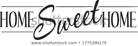 Home sweet home! Stock photo © hsfelix