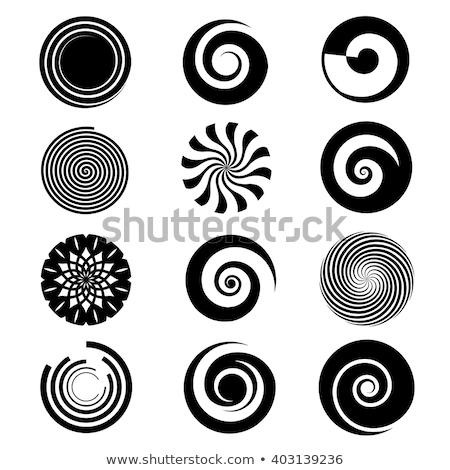 аннотация белый спиральных элемент набор иллюстрация Сток-фото © Blue_daemon