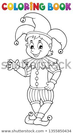 Happy jester theme image 1 Stock photo © clairev