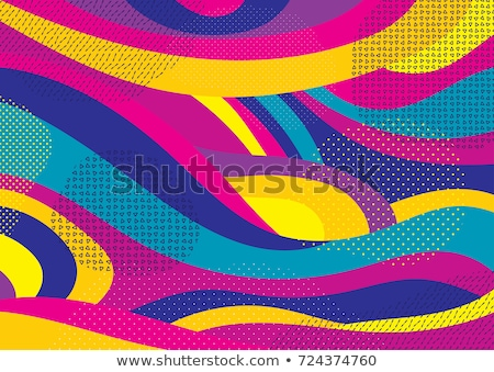 Template of Geometric color background Stock photo © biv