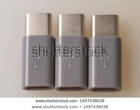 Csoport villanás öt különböző színek számítógép Stock fotó © magraphics