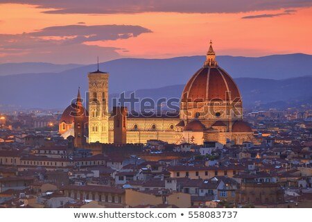 Florence Cathedral in evening, Italy Stock photo © borisb17