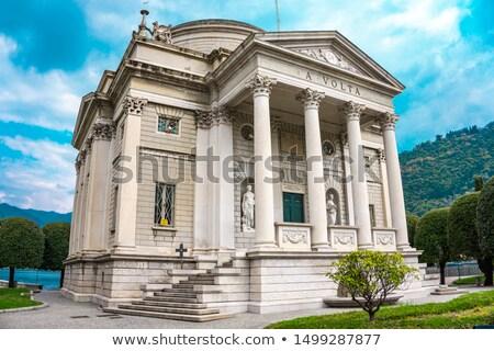 Tempio Voltiano, a museum in  Como, Italy Stock photo © boggy