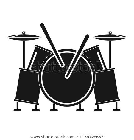musica · picchiare · abstract · funky · note · musicali · vettore - foto d'archivio © pikepicture