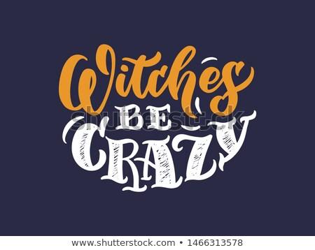 crazy halloween party spooky festival banner design Stock photo © SArts