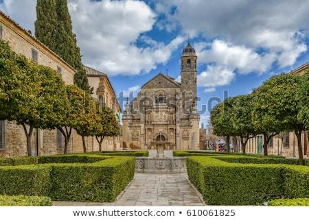 Heilig kapel Spanje regio gebouw schoonheid Stockfoto © borisb17