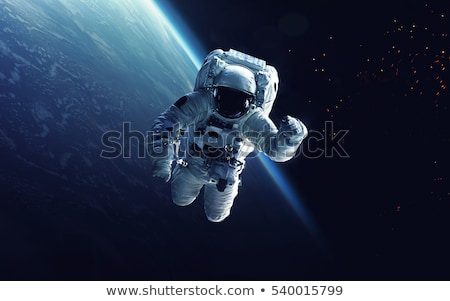 Raum Exploration Astronaut Elemente Bild Hintergrund Stock foto © NASA_images