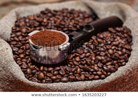 Close-up of retro coffee machine Stock photo © nomadsoul1
