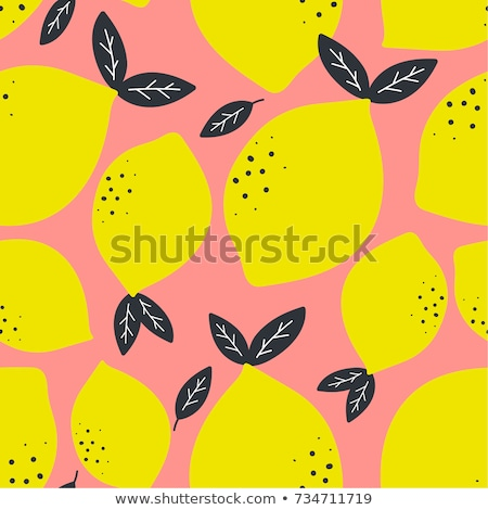seamless pattern with fruits Stock photo © kariiika