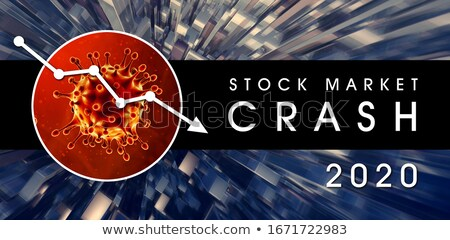 Stock Market Crash 2020 Stock photo © solarseven