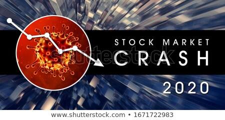 Zdjęcia stock: Stock Market Crash 2020