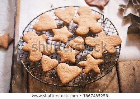 Inny imbir cookie nowego rok christmas Zdjęcia stock © olira
